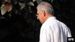 """El empresario canadiense Sarkis Yacoubian en el Tribunal Municipal """"Diez de Octubre"""" para la segunda vista de su juicio a puerta cerrada en La Habana (Cuba)."""