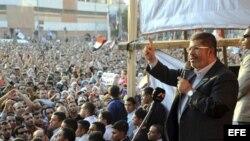 El presidente de Egipto, Mohamed Mursi.