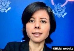 Namita Biggins, vocera del Departamento de Estado de EEUU para medios hispanos.