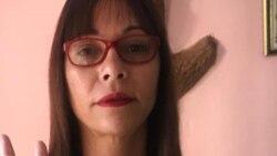 Declaraciones de la opositora Iliana Hernández