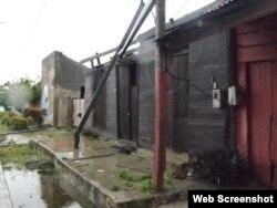 Cerca del mar casi la totalidad de las viviendas resultaron afectadas.