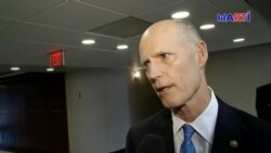 Senador Scott por una salida sin derramamiento de sangre en Venezuela