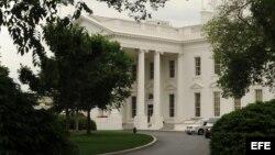 Vista general del costado norte de la Casa Blanca. Archivo.