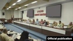 El X pleno del Comité Central del PCC anuncia una nueva Ley Electoral.