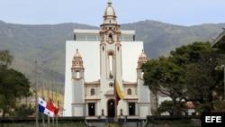 Vista general del Panteón Nacional de Venezuela en Caracas.
