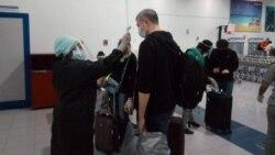 Turistas rusos llegan al Aeropuerto de Jardines del Rey, en Morón, Ciego de Ávila. (Facebook)