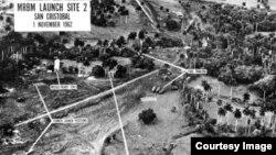 Sitio en San Cristóbal, Pinar del Río, donde fueron ubicados los misiles soviéticos en Cuba.