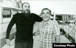 García Márquez era un frecuente invitado de Fidel a jornadas de pesquería en Cayo Piedra