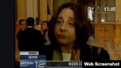 Midori de Habich, ministra de Salud peruana.