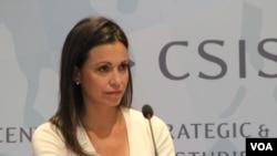 María Corina en el Centro de Estudios Estratégicos e Internacionales (CSIS) en Washington
