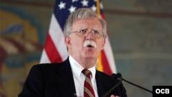 Bolton anuncia más sanciones contra Cuba, Nicaragua y Venezuela