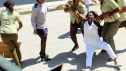 Detenciones de Dama de Blanco en 151 domingo represivo en Cuba