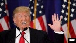 El magnate inmobiliario y aspirante presidencial Donald Trump.