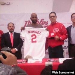 El ex Grandes Ligas Alexei Ramírez.