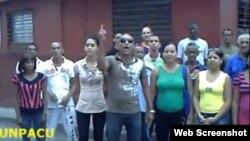 Activistas de UNPACU en Santiago de Cuba