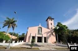 La iglesia de Santa Rita de Casia, en Miramar, La Habana.