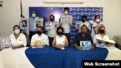 Familiares de las víctimas y opositores de Nicaragua recuerdan a víctimas de Abril 2018