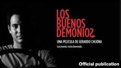 """Cartel del filme """"Los buenos demonios""""."""