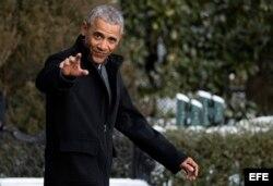 Barack Obama dejará la Casa Blanca el 20 de enero de este año