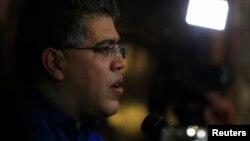 El ministro de relaciones exteriores de Venezuela, Elías Jaua.