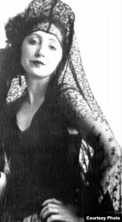 La escritora Anaïs Nin.