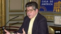Afredo Bryce Echenique en la Casa de América en Madrid, España.