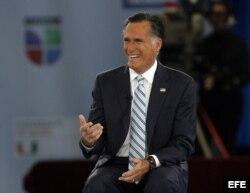 El candidato presidencial republicano, Mitt Romney.