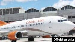 Choice Aire, compañía de vuelos fletados.