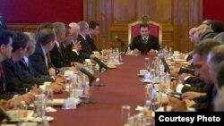 Reunión del Consejo de Seguridad Nacional de México