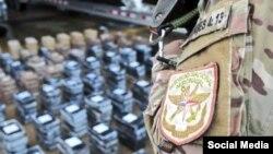 Soldado del SENAM en Panamá.