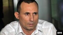 El disidente cubano José Daniel Ferrer, líder la la Unión Patriótica de Cuba, en una foto de archivo.