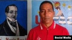 Carlos Oliva Rivery, activista del grupo opositor, Unión Patriótica de Cuba, UNPACU.