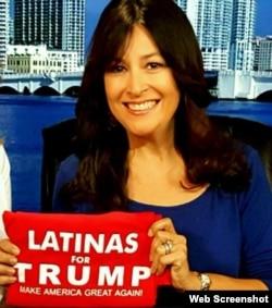 Denise Gálvez y sus colegas han servido de portavoces voluntarias en la Campaña de Donald Trump.
