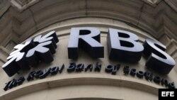 Una sucursal del Royal Bank of Scotland (RBS), en Londres (Reino Unido).