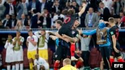 Los croatas vencieron 2-1 a Inglaterra, y discutir[an la final con Francia.