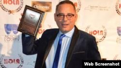Yoshvani Medina, actor y dramaturgo de origen cubano, reconocido en todo el mundo