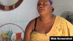 María de las Mercedes Naranjo. (Captura de video/ADN Cuba)