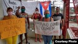 Ayuno por los presos políticos Tomado de Facebook