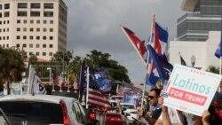 Luis Zúñiga describió de histórico y triunfal la caravana en Miami este 10 de octubre