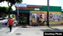 Mural en la Pequeña Habana de Miami, Calle 8 y Avenida 14.