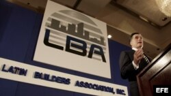 Romney con los Latin Builders Asociation