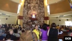 Celebración de la Virgen en la Ermita de la Caridad del Cobre