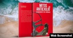 Portada del libro Mitos del Antiexilio en su segunda edición