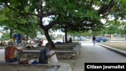 Reporta Cuba /ancianos abandono / Guanabo /foto Judith Muñiz