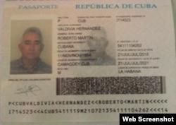 Carnet de identidad, Roberto Valdivia.