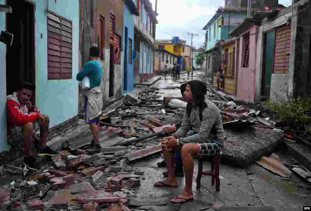 Desolación en Baracoa.