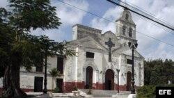 Iglesia de la Pastora en Santa Clara, Cuba.