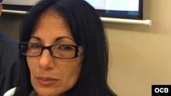 Leticia Ramos dijo que el jueves fue amenazada de ir a prisión si persiste en militar en el grupo Damas de Blanco.