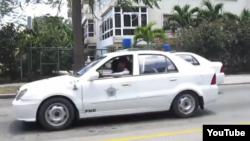 Reporta Cuba. Operativo policial en La Habana.
