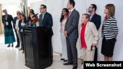 ONG de 18 países denuncian exclusion de Cumbre de las Américas en Panamá.